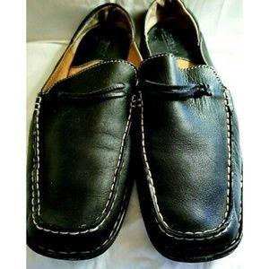 Born Slip On Mules Shoes Black